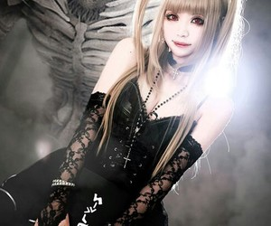 anime, death note, and misa image