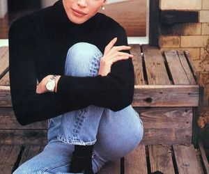 fashion, 90s, and denim image