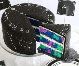 cake, food, and black image