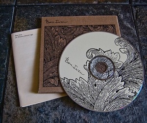 bon iver, music, and cd image
