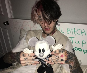lil peep, lilpeep, and hellboy image