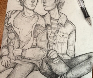 fan art, philip, and lukas image