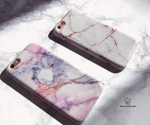 apple, case, and marble image