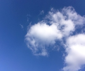air, blue, and cloud image