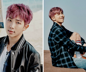 bts, rap monster, and jin image