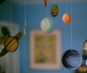planet, space, and room image