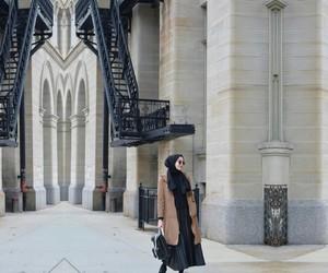 hijab, modest, and muslim image