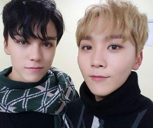 vernon, Seventeen, and seungkwan image