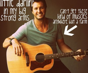 country music and luke bryan image