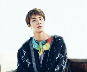 army, jin, and kpop image