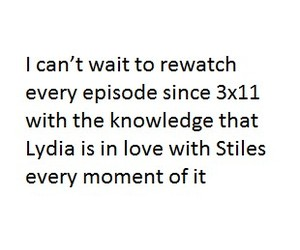 kiss, lydia, and stiles image