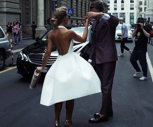 couple, style, and dress image