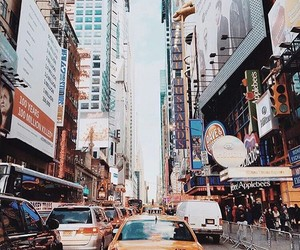 cars, Dream, and time square image