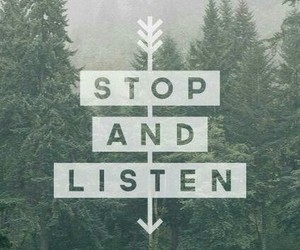 listen, quote, and stop image