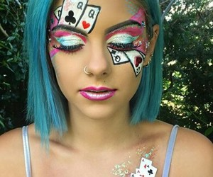 artistic, makeup, and maquillaje image