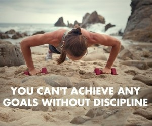 motivation, fitness, and discipline image