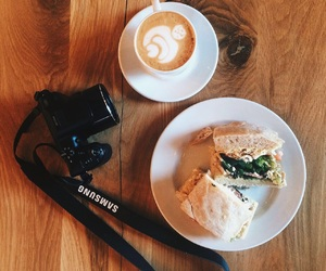 camera, coffee, and samsung image