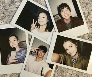 david lambert, maia mitchell, and cierra ramirez image