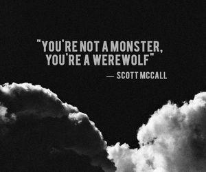 teen wolf, scott mccall, and werewolf image