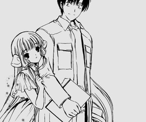 chobits, anime, and clamp image