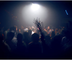 band, concert, and party image