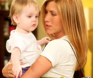 baby, rachel green, and friends image