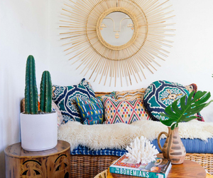 boheme, bohemian, and living space image