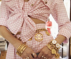 fashion, chanel, and pink image