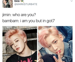 kpop, bambam, and bts image