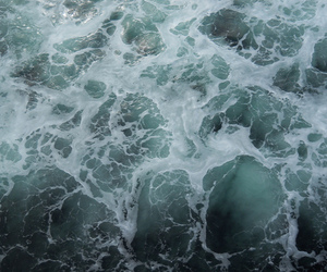 sea, water, and grunge image