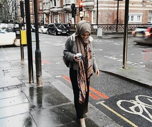 hijab, beautiful, and islam image