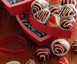 chocolate, heart, and i love u image