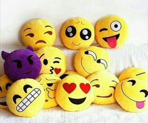 emoji and pillow image