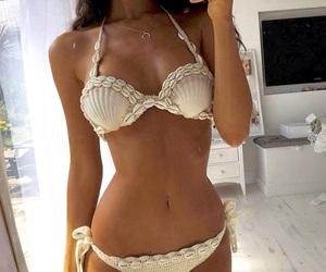 bikini, body goals, and girl image