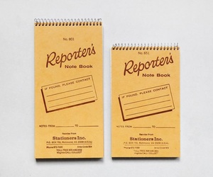 reporter, aesthetic, and notebook image