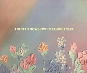 quotes, flowers, and forget image