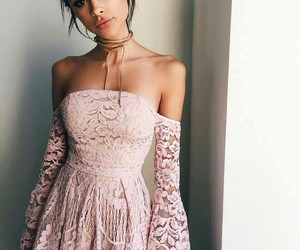 choker, classy, and clothes image