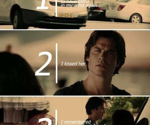 damon salvatore, bonnie bennet, and best friends image