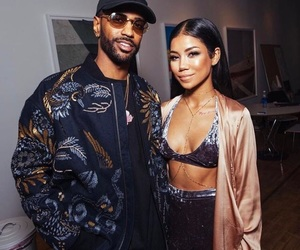 couple, big sean, and jhene aiko image