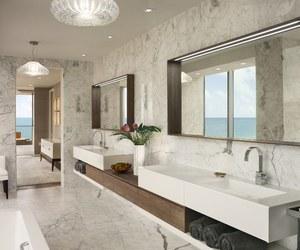 decor, luxury, and bath image