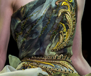 Couture, green, and dress image