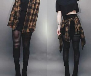 outfit, style, and grunge image