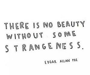 beauty, quote, and edgar allan poe image