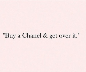 quotes, chanel, and pink image