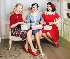1950's, classic, and fashion image
