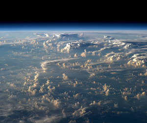 clouds and earth image
