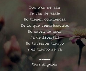 frase, song, and casi angeles image