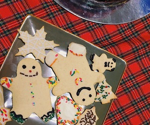 baking, christmas, and cookie image