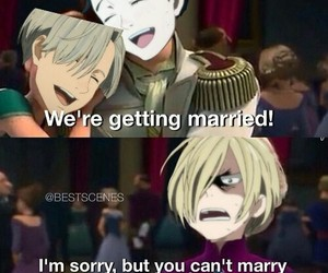 anime, funny, and victor image