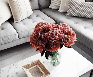 flowers, home, and decor image